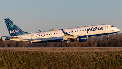 A picture of N283JB - Embraer E190AR - JetBlue Airways - © bellcc