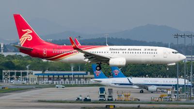 B-1757 - Boeing 737-87L - Shenzhen Airlines