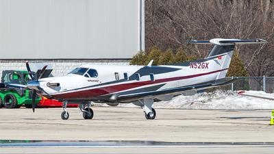 A picture of N52GX - Pilatus PC12 NGX - [2052] - © Miles Aronovitz