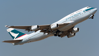 B-HUI - Boeing 747-467 - Cathay Pacific Airways