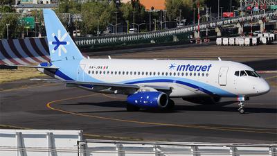 A picture of XAJBA - Sukhoi Superjet 10095B - Interjet - © Alejandro Aceves