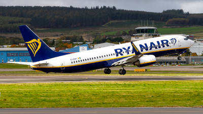 A picture of EIENH - Boeing 7378AS - Ryanair - © Ethan Hew - p_nilly