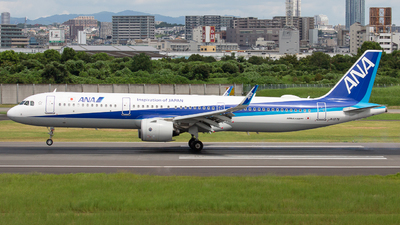 A picture of JA137A - Airbus A321272N - All Nippon Airways - © Tokubee