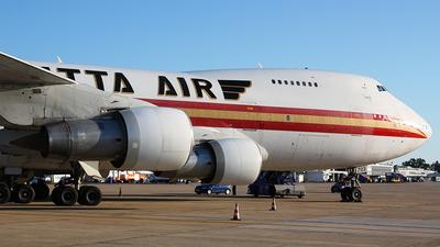N703CK - Boeing 747-212B(SF) - Saudia - Saudi Arabian Airlines (Kalitta Air)