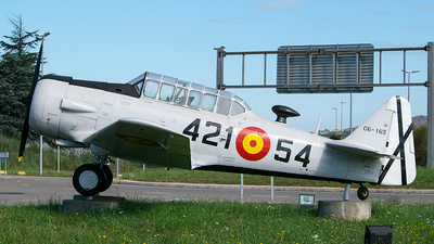 C6-165 - North American SNJ-6 Texan - Spain - Air Force