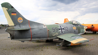 99-12 - Fiat G91-R/3 - Germany - Air Force