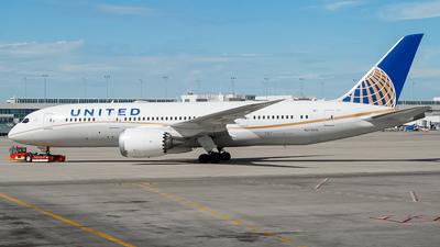 Reg.N27908 Boeing 787-8 Dreamliner United Airlines