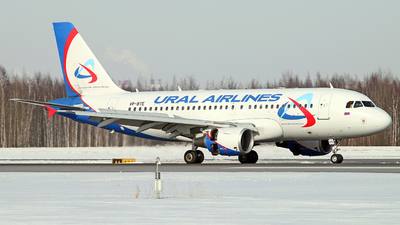 VP-BTE - Airbus A319-112 - Ural Airlines