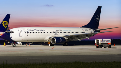 I-LCFC - Boeing 737-86N - Blue Panorama Airlines