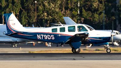 A picture of N79DS - Beech B36TC Bonanza - [EA326] - © Alex Crail