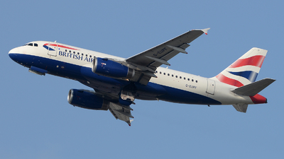 A picture of GEUPF - Airbus A319131 - British Airways - © David Oates