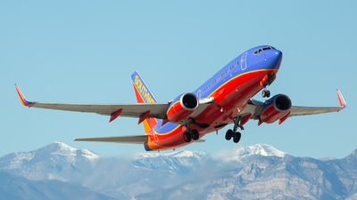 N245WN - Boeing 737-7H4 - Southwest Airlines