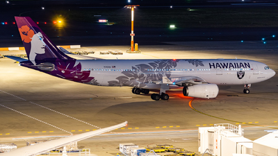 N382HA - Airbus A330-243 - Hawaiian Airlines
