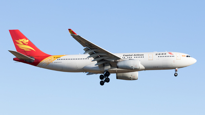 B-8019 - Airbus A330-243 - Capital Airlines
