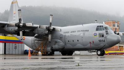 FAC1014 - Lockheed C-130B Hercules - Colombia - Air Force