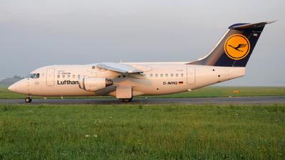 D-AVRQ - British Aerospace Avro RJ85 - Lufthansa Regional (CityLine)