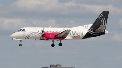 N341AG - Saab 340B - Silver Airways