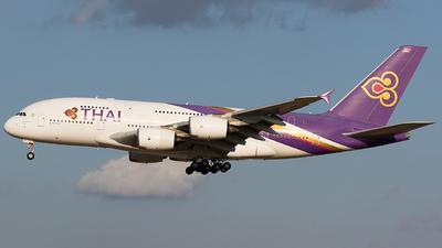 A picture of HSTUB - Airbus A380841 - Thai Airways - © BennyH