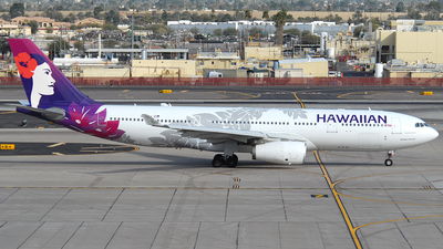 A picture of N360HA - Airbus A330243 - Hawaiian Airlines - © Jason Whitebird