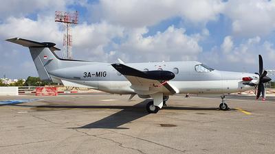 3A-MIG - Pilatus PC-12/47E - Private