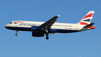 A picture of GEUUJ - Airbus A320232 - British Airways - © Ferenc Kolos