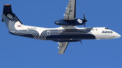 A picture of RA67253 - De Havilland Canada Dash 8300 - Polar Airlines - © BizavMen