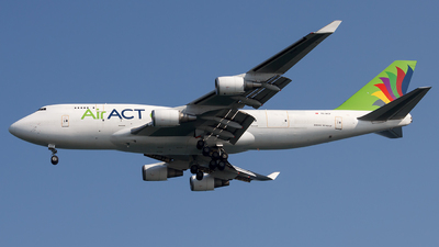 A picture of TCACF - Boeing 747481(BDSF) - AirACT - © MBekir CKMK