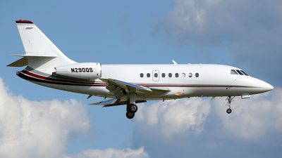 A picture of N290QS - Dassault Falcon 2000 - NetJets - © DJ Reed - OPShots Photo Team