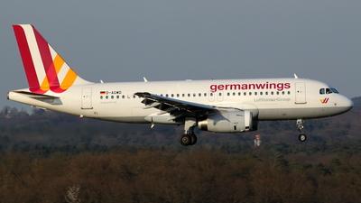 D-AGWD - Airbus A319-132 - Germanwings