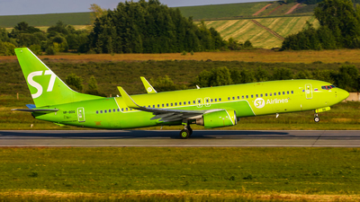 A picture of VPBDG - Boeing 7378Q8 - S7 Airlines - © Kirill Mushak