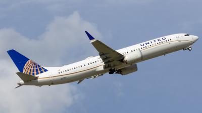 N27511 - Boeing 737-9 MAX - United Airlines