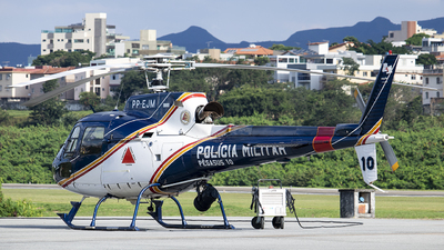 PP-EJM - Helibrás AS-350B2 Esquilo - Brazil - Military Police