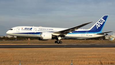 A picture of JA808A - Boeing 7878 Dreamliner - All Nippon Airways - © Gripen-YN
