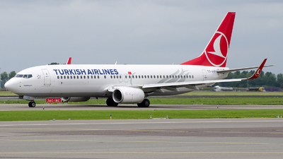 TC-JVP - Boeing 737-8F2 - Turkish Airlines