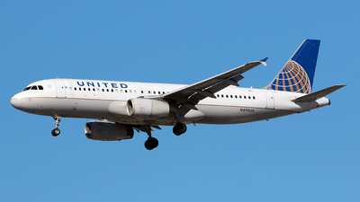 N490UA - Airbus A320-232 - United Airlines