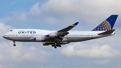 N180UA - Boeing 747-422 - United Airlines