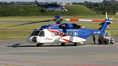 A picture of LNONE - Sikorsky S92A - Bristow Helicopters - © R.Rimestad