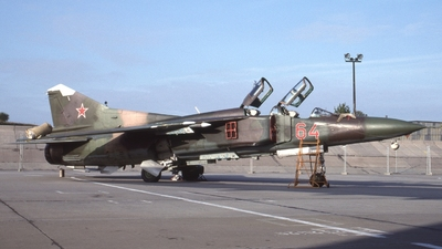 64 - Mikoyan-Gurevich MiG-23UB Flogger C - Soviet Union - Air Force