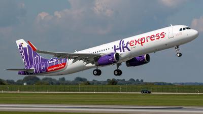 D-AVZH - Airbus A321-231 - Hong Kong Express