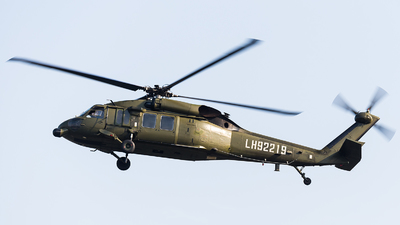LH92219 - Sikorsky S-70C-2 Black Hawk - China - Army