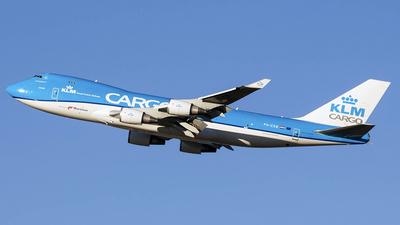 A picture of PHCKB - Boeing 747406F(ER) - KLM - © J.Fernando