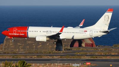 EI-FHE - Boeing 737-8Q8 - Norwegian