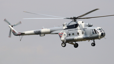 1706 - Mil Mi-17 Hip - Mexico - Air Force