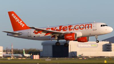 G-EZBP - Airbus A319-111 - easyJet