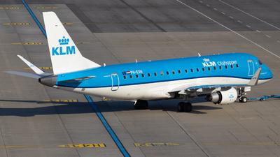 A picture of PHEXH - Embraer E175STD - KLM - © Felix Sourek