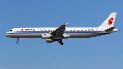 B-6596 - Airbus A321-213 - Air China