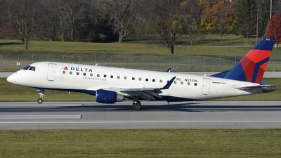 A picture of N231JQ - Embraer E175LR - Delta Air Lines - © DJ Reed - OPShots Photo Team
