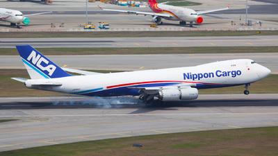 JA15KZ - Boeing 747-8KZF - Nippon Cargo Airlines (NCA)