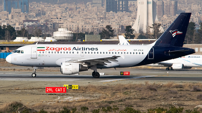 EP-ZAX - Airbus A319-113 - Zagros Airlines