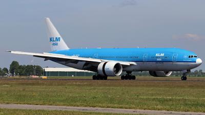 PH-BQK - Boeing 777-206(ER) - KLM Asia